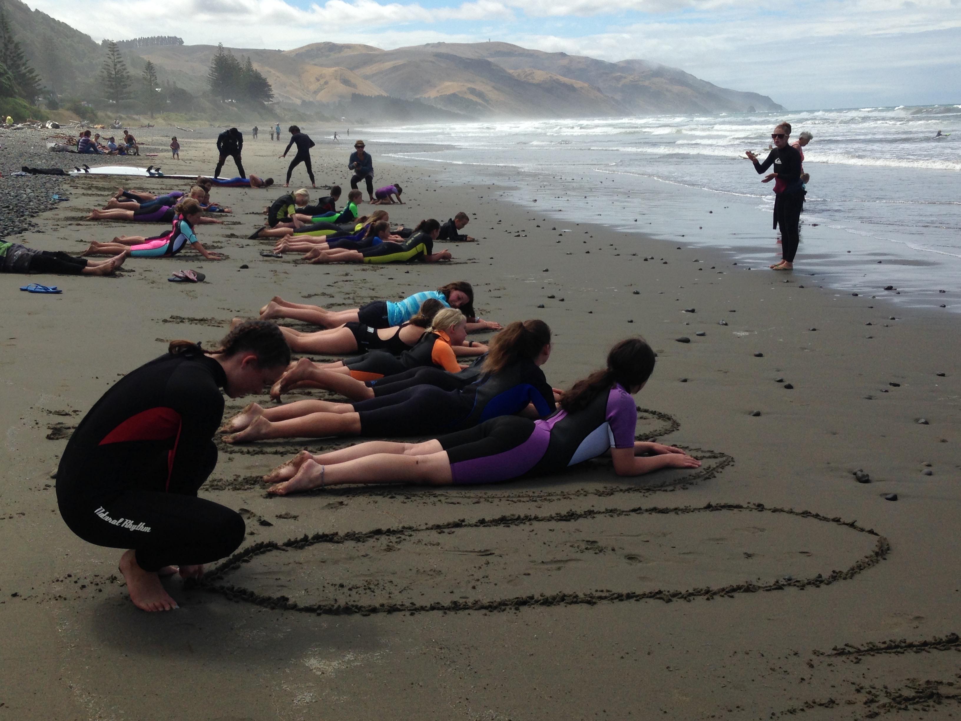 surf school Gore Bay